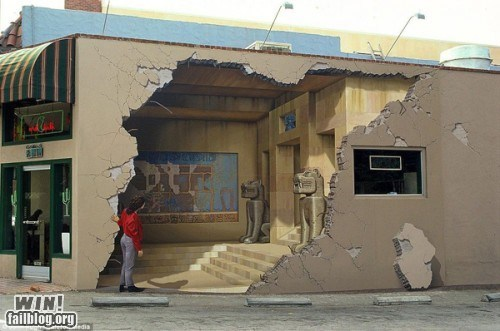 graffiti,hacked irl,illusion,mural,Street Art