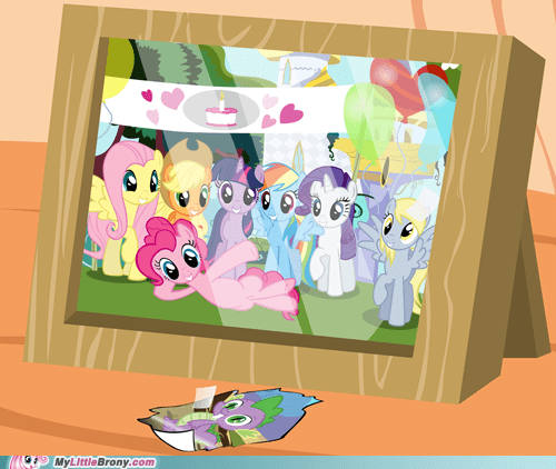 derpy hooves mane six Photo photoshop spike TV