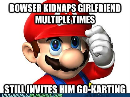 bowser Good Guy Greg good guy mario Mario Kart meme - 6032034048