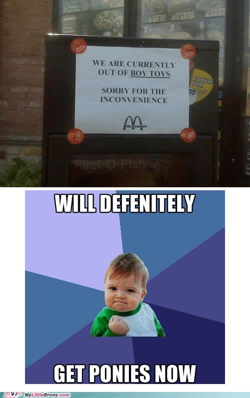 McDonald's meme success kid toys - 6032139776