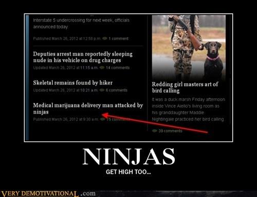 drugs hilarious marijuana ninja - 6032204800