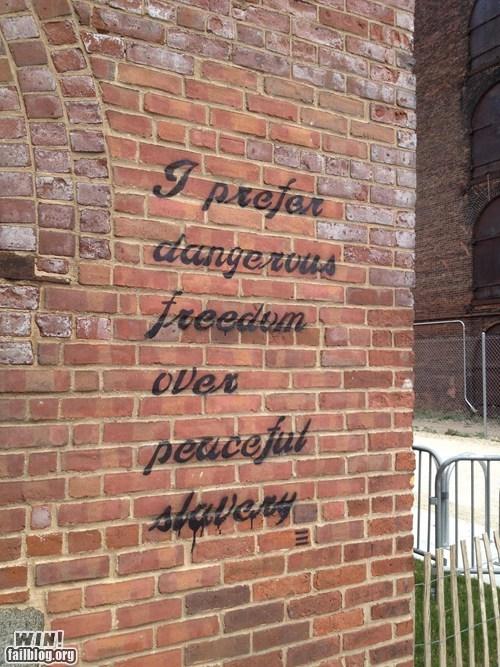 graffiti hacked irl political Street Art true facts - 6032279808
