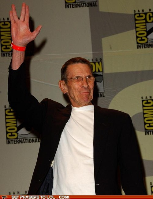 birthday happy birthday Leonard Nimoy Spock Star Trek the voyage home