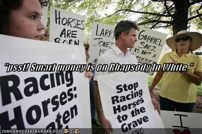 Horse Racing Protest sports - 603230464