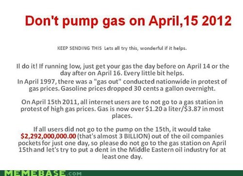 2012 april boycott gas Text Stuffs yeah we know it says 2011 - 6032368896