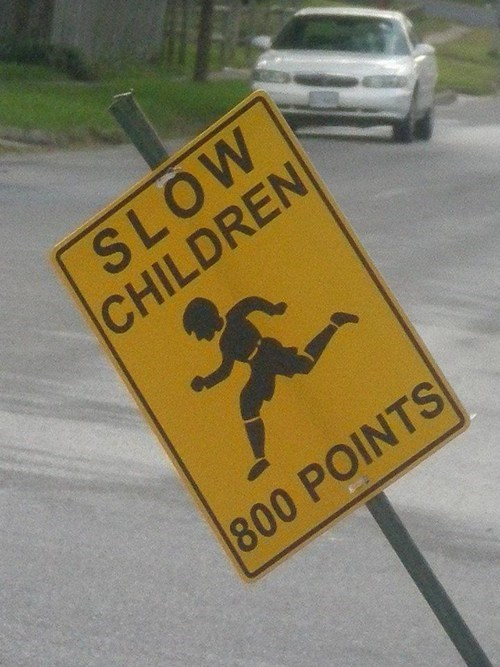 slow children street sign - 6032402944