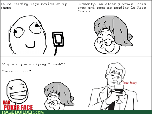true story,le rage comics
