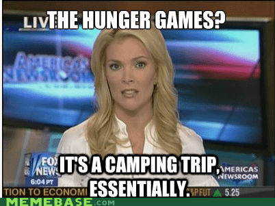 books,camping,Essentially,hunger games,Memes,movies