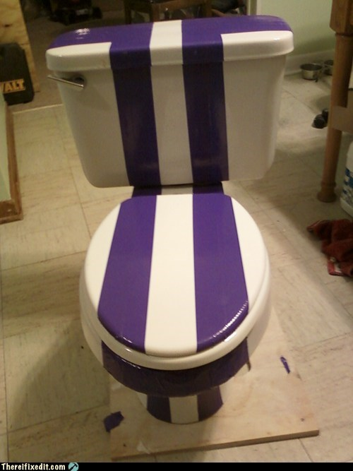 racing stripes toilet - 6033615872