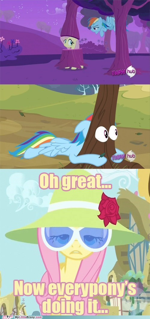 comic comics fluttershy hipster manestream tree meme - 6033692672