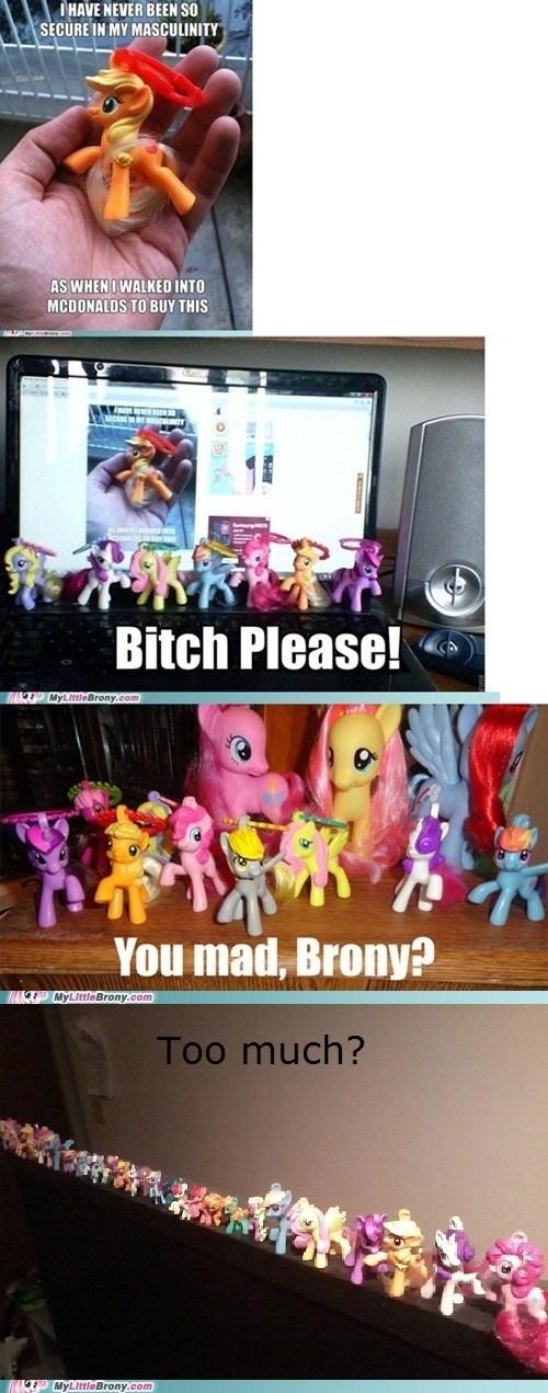 Bronies McDonald's ponies Reframe toys - 6034190848
