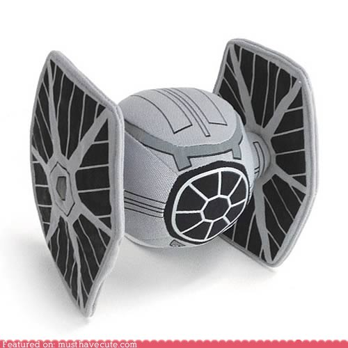 empire imperial Plush ship star wars tie fighter - 6034299904
