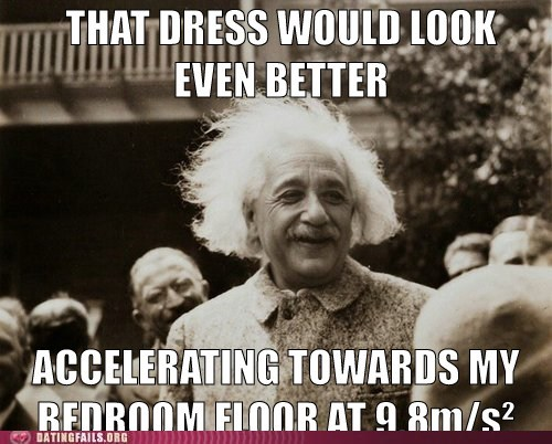 albert einstein pick-up lines science humor - 6034877440