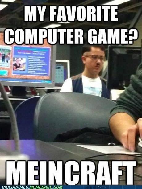 hitler meincraft minecraft PC pun the internets - 6035225856