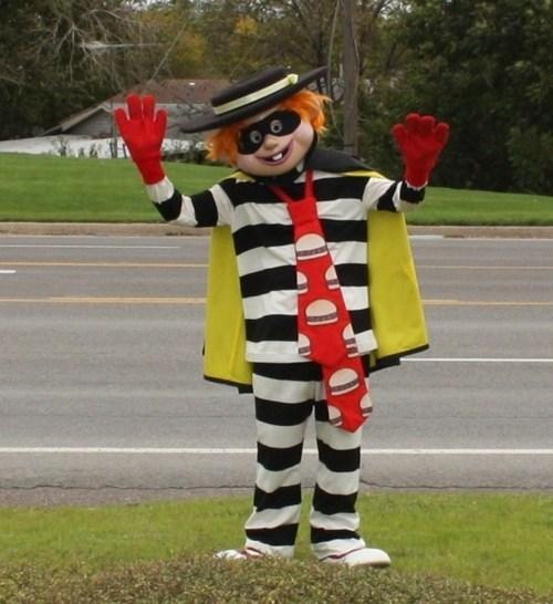 Hamburgler McCriminal McDonald's Meanwhile in Augusta - 6035288064