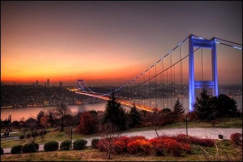 bridge,istanbul,Turkey