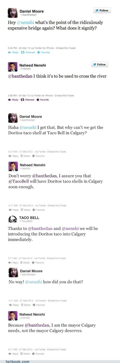 failbook Featured Fail oh canada politics taco bell twitter - 6035324416