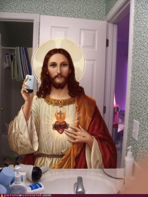 facebook heavenly jesus profile pic wtf - 6035501824