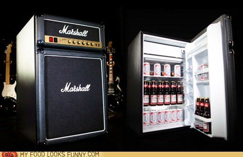 beer,faux,fridge,marshall amp,refrigerator