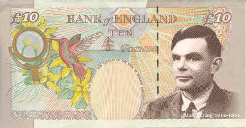 10 pound note Alan Turing currency Nerd News petition - 6036173824