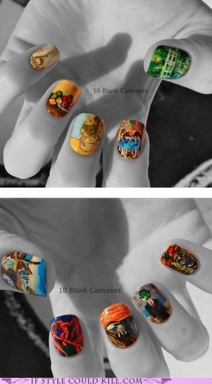 cool accessories,Fine Art,nail art,nails