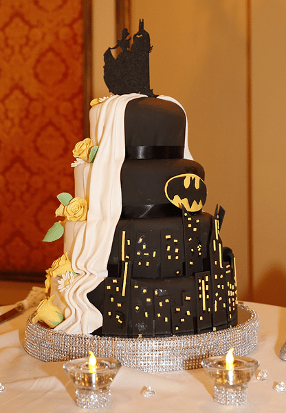 geeky,wedding,batman