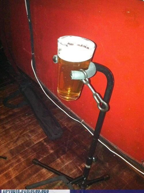 bar beer clever guitar holder Music