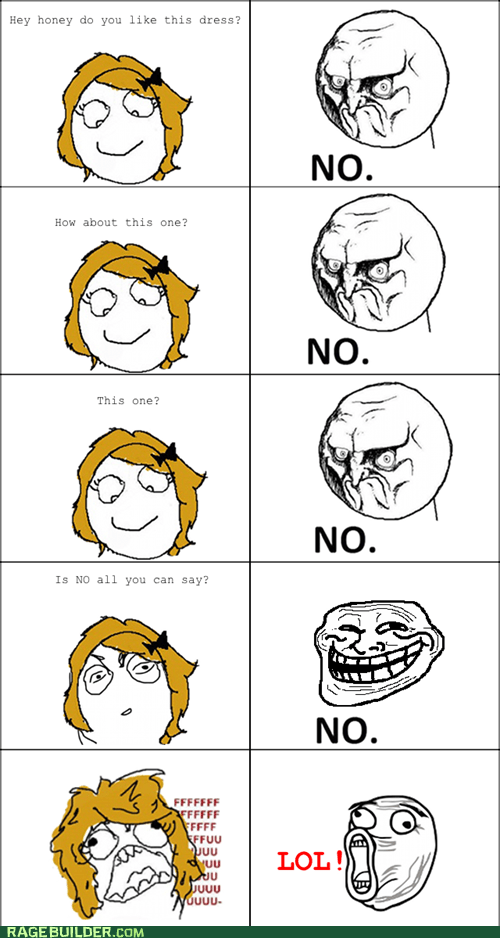 no,Rage Comics,troll face,women