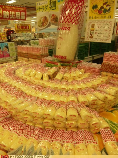 display,Japan,kewpie,mayonnaise,store