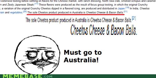australia bacon balls cheetos me gusta - 6036803840
