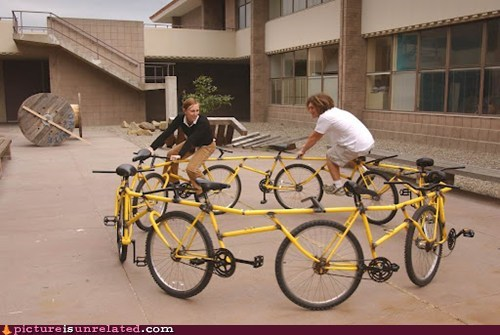 around bicycle tandem wtf - 6036880896