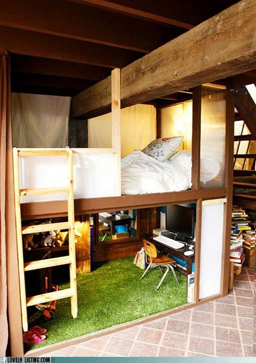 barn bed loft splinters wood - 6036980224