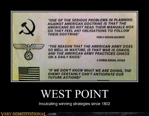 america,hilarious,no idea,west point,winning