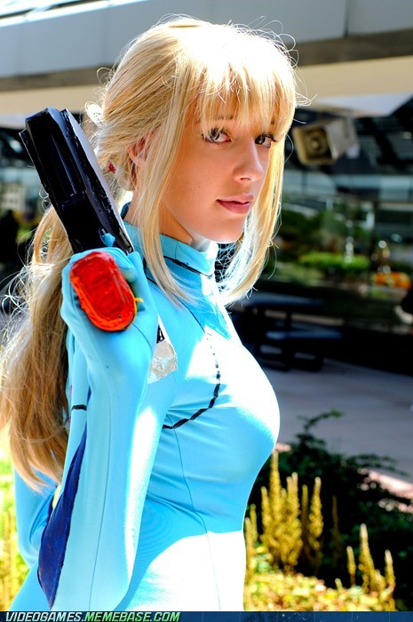 cosplay Metroid samus aran video games - 6037575168