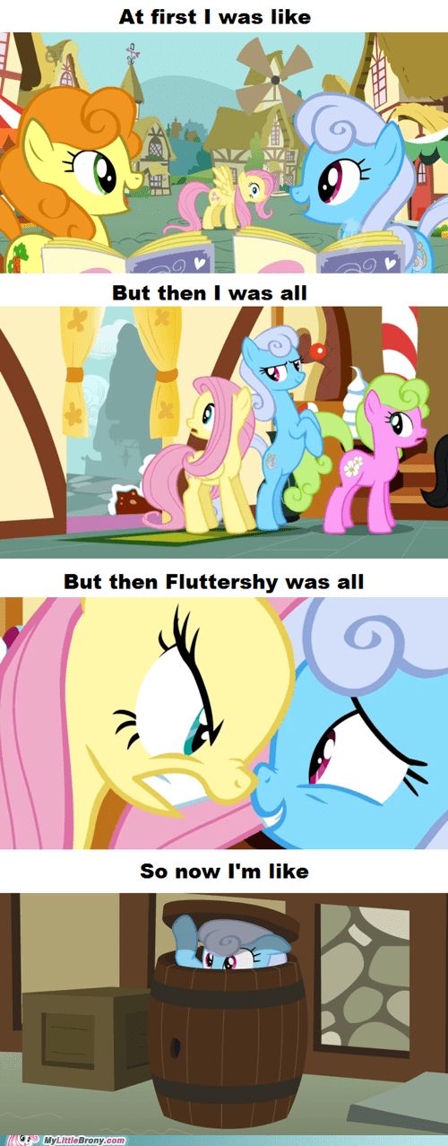 at first i was like comic comics fluttershy meme show shine - 6038044416