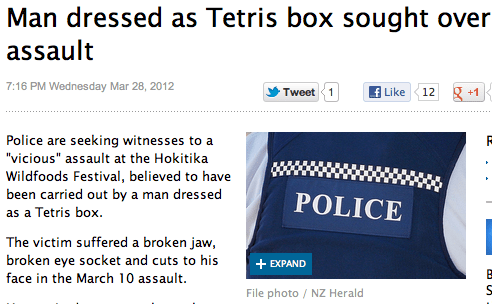 Probably bad News,stupid criminals,tetris,wtf