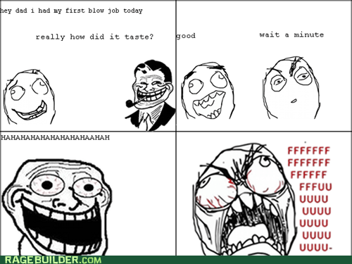 beejays fu guy Rage Comics troll dad
