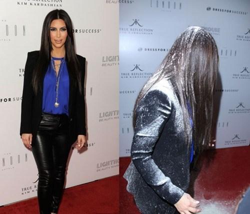 celeb,christina cho,flour bomb,Khloe Kardashian,kim kardashian,michelle cho,peta