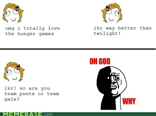 oh god why Rage Comics hunger games twilight - 6039333120