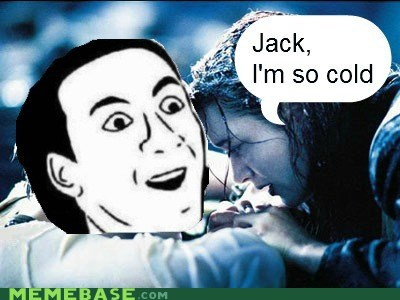 assume,jack,Rage Comics,titanic,you dont say