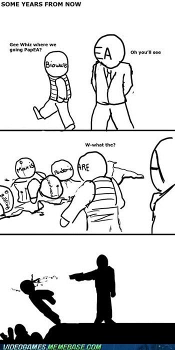BioWare comic EA maxis pandemic publisher Sad - 6039747584