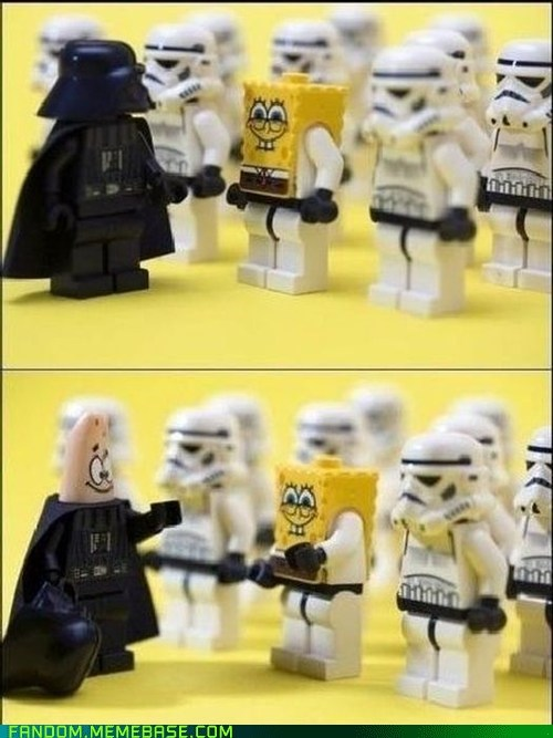 crossover It Came From the Interwebz patrick SpongeBob SquarePants star wars - 6039815168