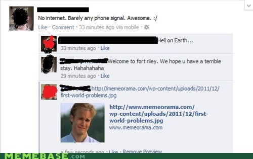 facebook First World Problems internet phone signal - 6040048128