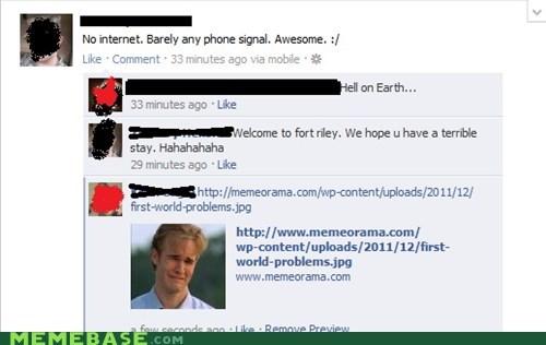 facebook First World Problems internet phone signal - 6040048128
