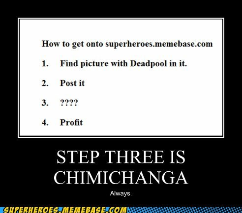 chimichanga deadpool FP Super-Lols - 6040078848