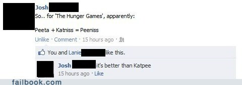 failbook,hunger games,innuendo,names