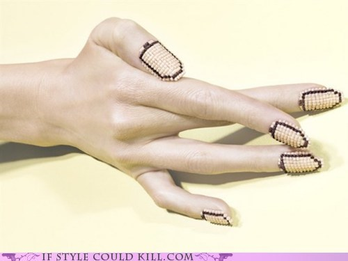 beads,cool accessories,nail art,nails
