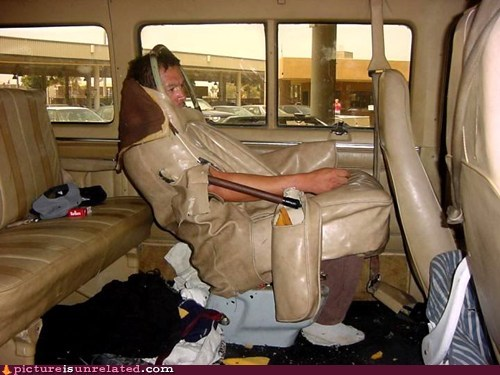 ninja seat van wtf