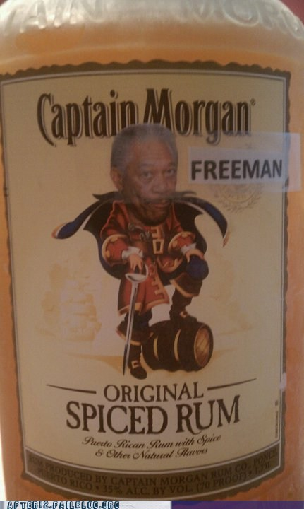 captain morgan,Morgan Freeman,Rum