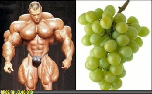 body builder,bodybuilding,grapes,muscles,steroids